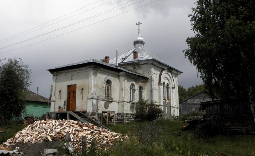 Церковь Алексия, Человека Божия с. Великая Губа (1866 г.)