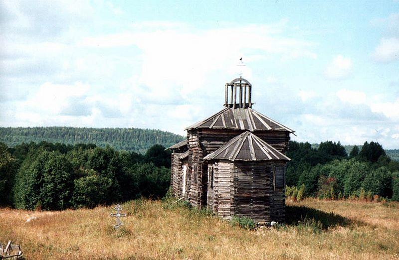 Церковь Параскевы Пятницы деревня Онежены (1831 г.)