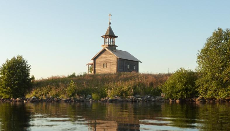 Часовня Св.Сампсона в д.Кондобережская (XIX в.)