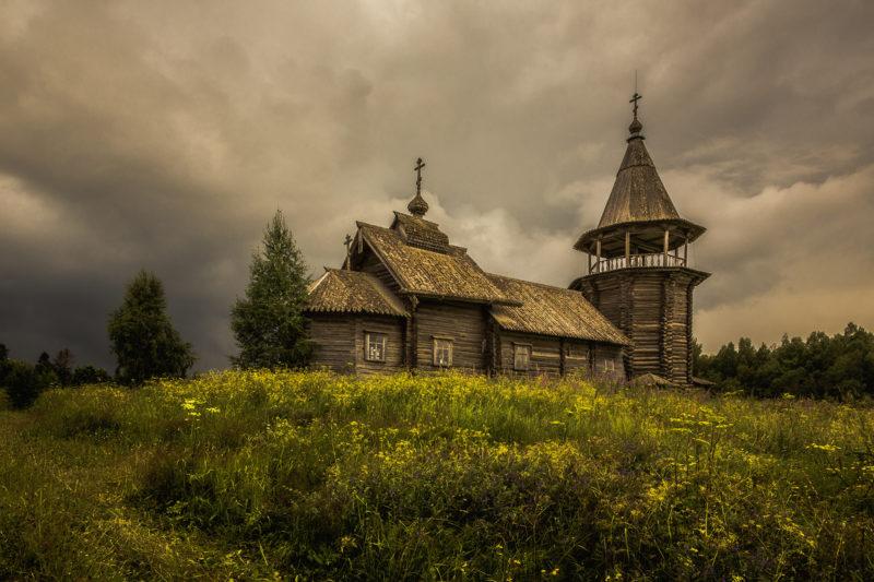 Церковь Ильи Пророка в деревне Поля (1873г.)