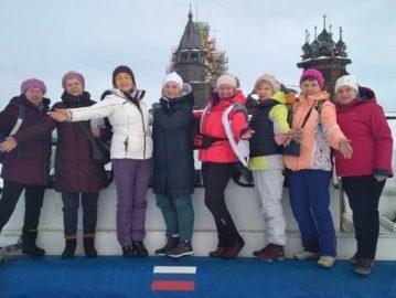 Кижи из Петрозаводска зимой